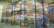 Мезонинные стеллажи и складские платформы